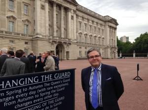 Ed at the Palace